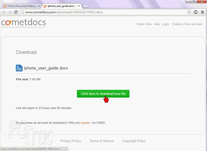 PDF, word, excel, doc, convertir pdf, transformer pdf, CometDocs