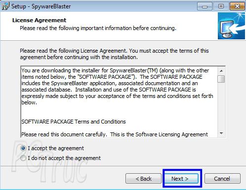 SpywareBlaster, logiciel anti-espion, windows, sites à bloquer, logiciels espions, logiciels pirates, protection d'ordinateur, protéger son ordinateur
