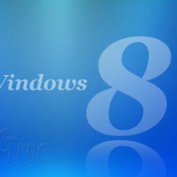 La fonction Refresh chez Windows 8