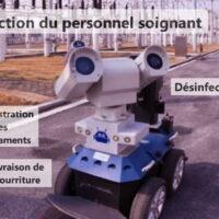 Des robots envoyés pour lutter contre le coronavirus